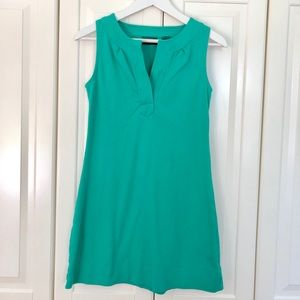 New York & Co. Teal Shift Dress